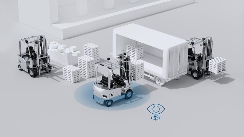 Bosch introduz sistema multicâmara no setor da logística