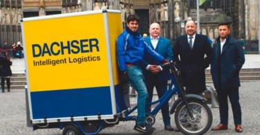 Dachser já faz entregas com bicicletas elétricas em Colónia
