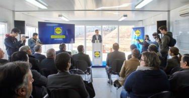 Lidl lança primeira pedra de investimento de 70 M€