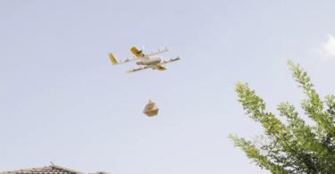 Drones da Google recebem aprovação para efetuar entregas