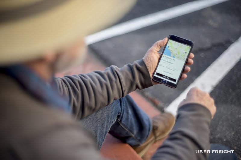 Uber Freight chega ao mercado europeu