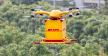 DHL Express inicia serviço de entrega com drones