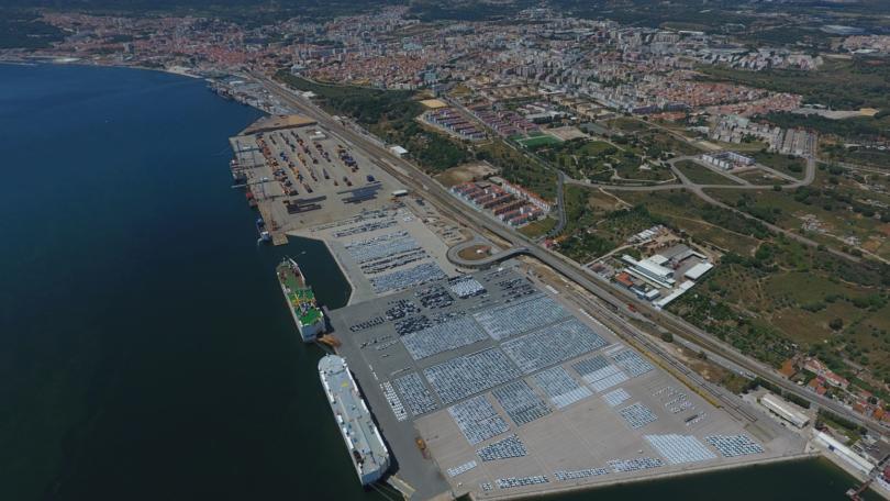 Porto de Setúbal cresce 5% nos primeiros três meses do ano