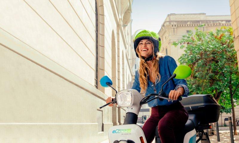 eCooltra scooters Logística e transportes hoje