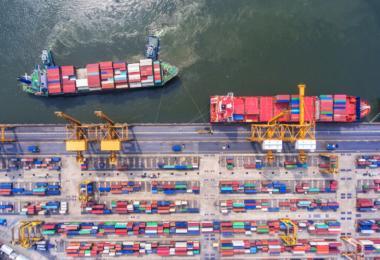 Roterdão novamente como porto mais movimentado na Europa