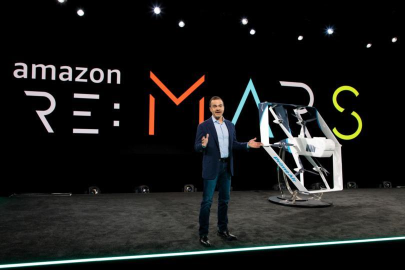 Amazon apresenta novo drone para entregas