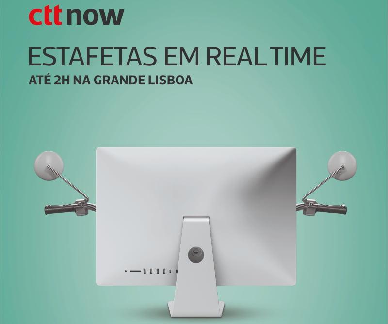 CTT lançam campanha para promover serviço de estafetas CTT Now