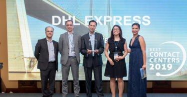 Customer service da DHL Express recebe prémio