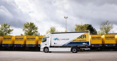 Dachser investe em frota sustentável