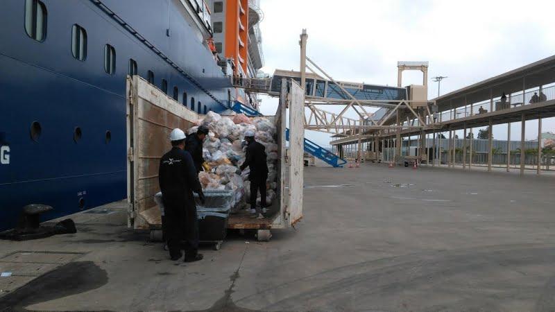 Porto de Lisboa geriu sete mil toneladas de resíduos em 2018