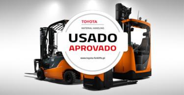Toyota lança novo site para Empilhadores Usados