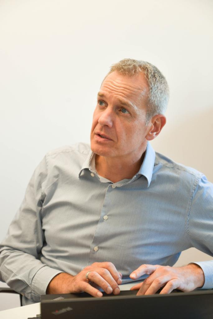Armin Karle, responsável pelo Centro de Desenvolvimento da Bosch em Braga