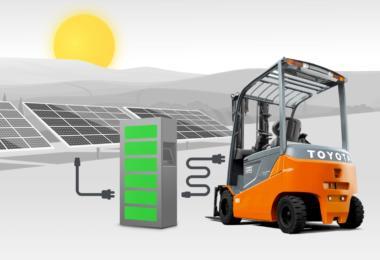 Toyota Material Handling Europe e Eneo Solutions unem forças na energia solar