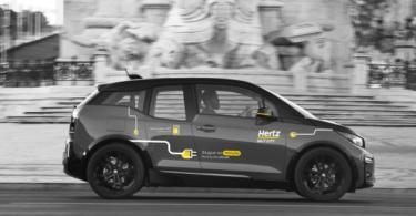 Carros elétricos da Hertz chegam ao Centro Comercial Colombo