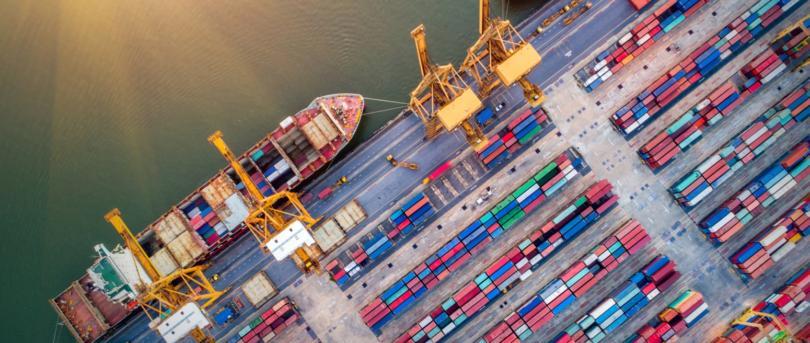 Movimento dos portos do continente recua 6,2% em 2019