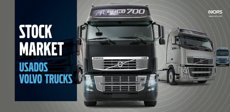 Auto Sueco realiza Stock Market de Usados Volvo Trucks