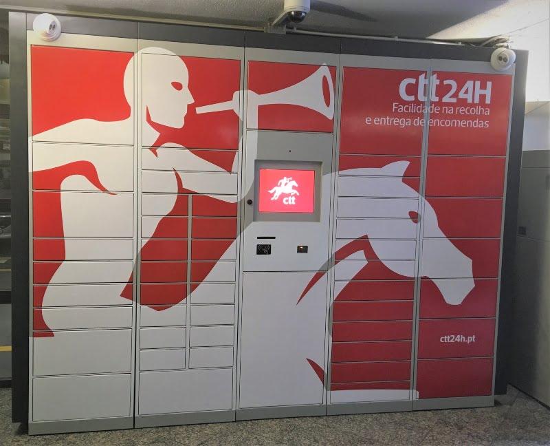 Cacifos automáticos dos CTT chegam ao Forum Aveiro