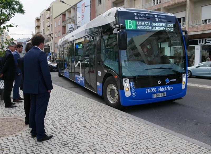Grupo Barraqueiro testa autocarro elétrico em Torres Vedras