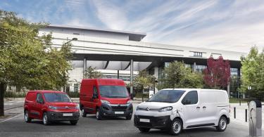 Citroën avança com ofensiva elétrica nos comerciais ligeiros