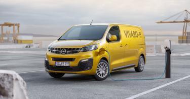 Opel lança versão elétrica do comercial Vívaro em 2020