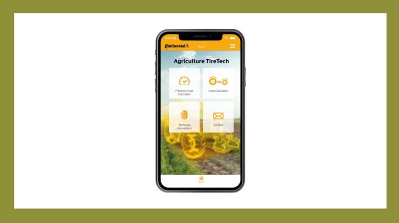 Continental lança app de pneus agrícolas para o consumidor final e revendedores