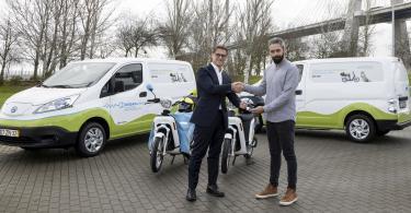 eCooltra reforça aposta nos veículos elétricos com o apoio da Nissan