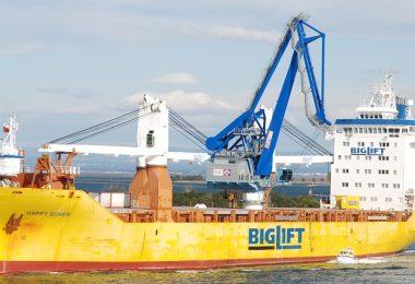 Porto de Aveiro preparado para cargas de grandes dimensões