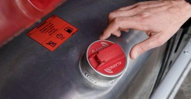 Scania com novo alarme de combustível detetor de ladrões