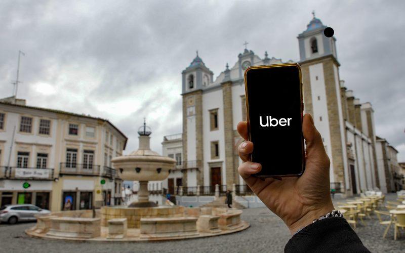 Uber Évora Transportes & Logística Hoje