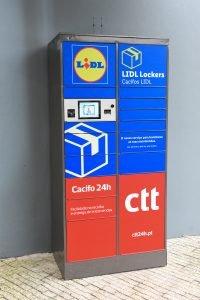 CTT disponibilizam Cacifos 24h em lojas Lidl Portugal