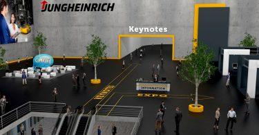 Jungheinrich com feira virtual