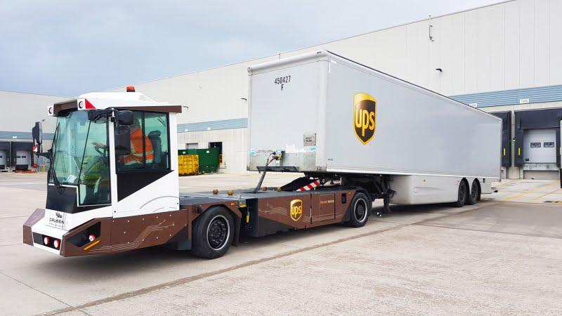 UPS testa veículos elétricos da Gaussin