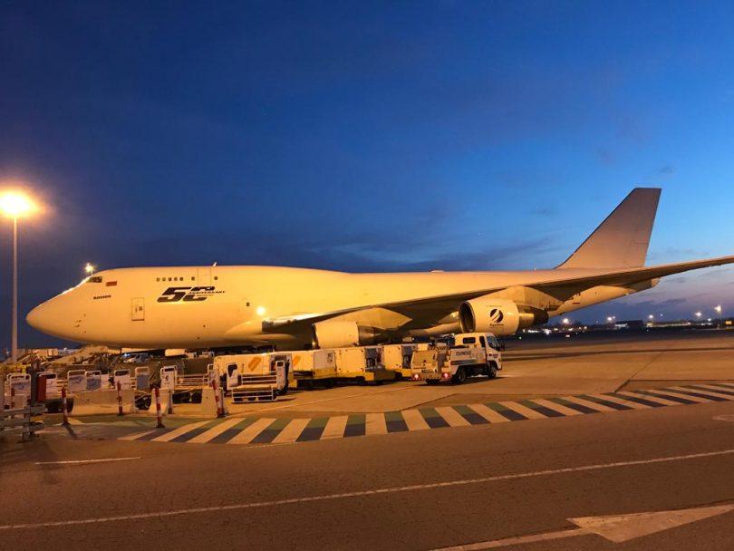 Rangel traz mais de 1000m3 de dispositivos médicos para o Portoem três dias