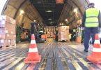 Rangel operacionalizamais um voo da China com dispositivos médicos hospitalares