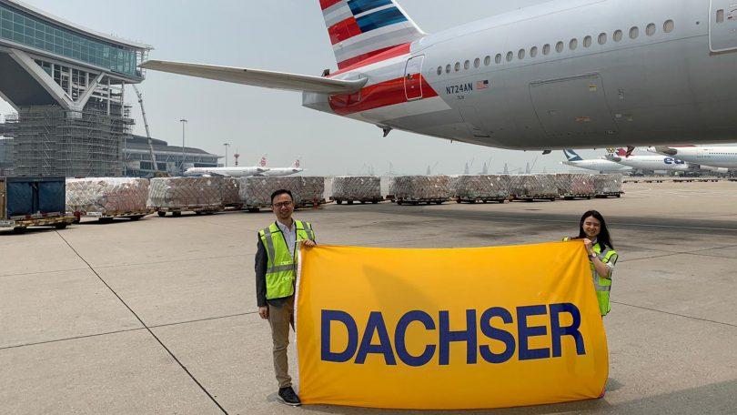 Dachser fretou 30 voos charter desde o início da crise da Covid-19