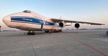 Rangel operacionaliza voo direto da China com 90 toneladas de equipamento médico