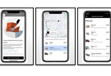 Uber lança serviço de entrega a consumidores finais