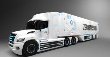 Camiao Eletrico a pilha de combustivel(hidrogenio)