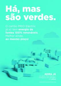 Prio energia 100% elétrica