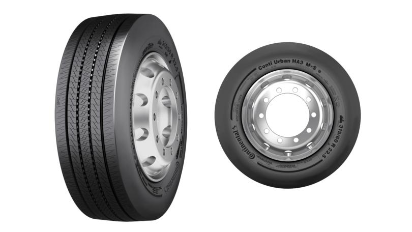 Novos pneus Continental