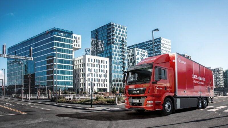 Serviço postal norueguês aposta em camião elétrico para distribuição
