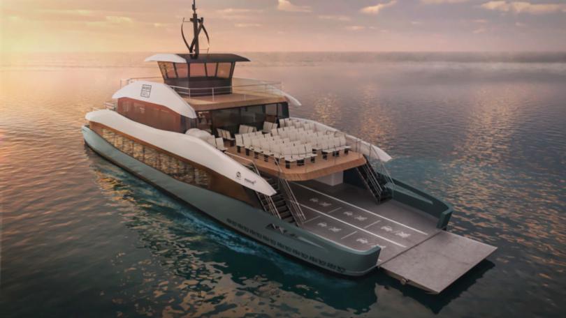 C.M Aveiro e Grupo ETE apresentam imagens do ferryboat elétrico português