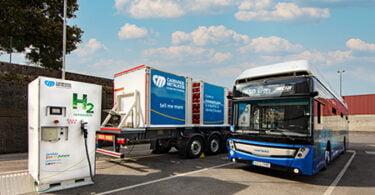 A Carburos Metálicos irá fornecer hidrogénio renovável à empresa TUA – operador de transporte urbano de Oviedo.