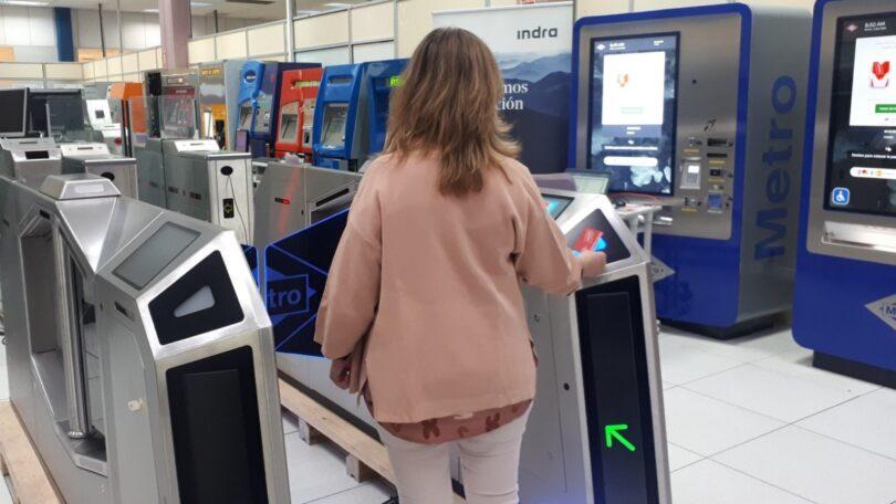 A Indra desenvolveu os primeiros protótipos de sistemas de bilhética para a Estação 4.0 do Metro de Madrid.