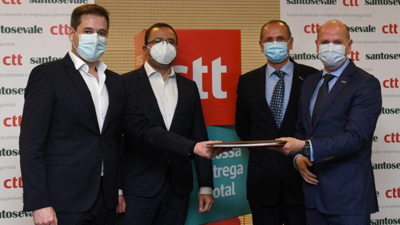 A Santos e Vale assinou um acordo de parceria com os CTT - Correios de Portugal, com vista à prestação de serviços de entrega de Carga.
