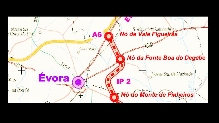 A Infraestruturas de Portugal (IP) anunciou a abertura do concurso para a elaboração do Projeto de Execução da Variante Nascente a Évora.