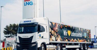 A empresa de energia Shell criou projeto-piloto para testar a utilização de Bio-GNL (ou biometano liquefeito) no transporte de longo curso.
