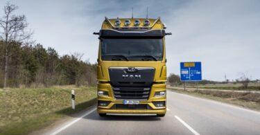 A MAN apresentou novos destaques de produtos para a nova geração de camiões, recém-lançada no ano passado. Um deles é o MAN OptiView.