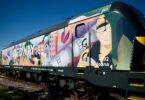 A Medway vai percorrer Portugal com a sua primeira locomotiva decorada, com uma instalação da artista visual e ilustradora portuguesa.