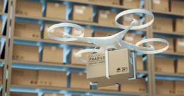 drone de mercadorias